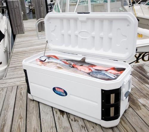 Coleman 200-Quart Xtreme Offshore Cooler, White