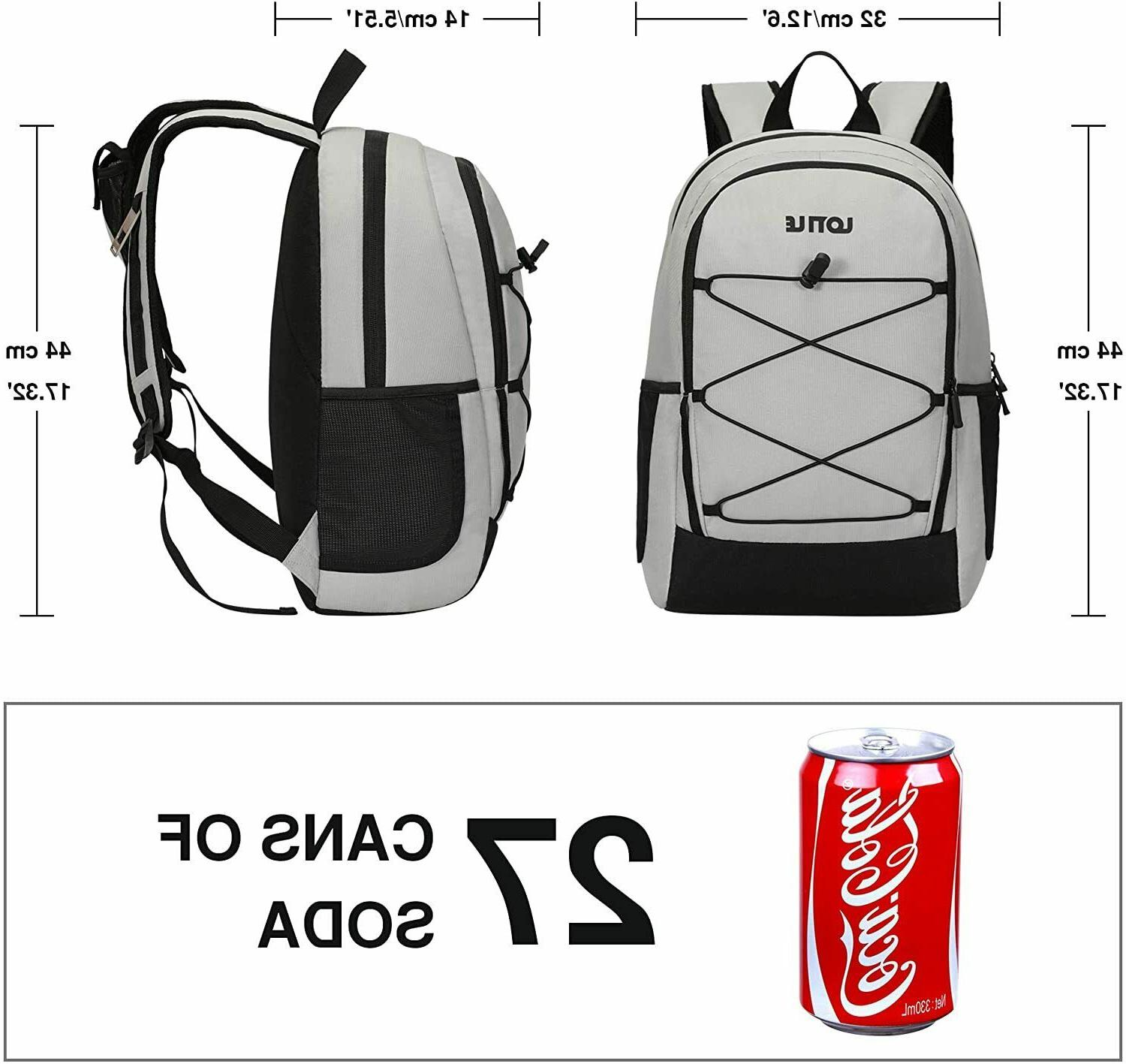 27 Backpack Bag Lightweight Picnics