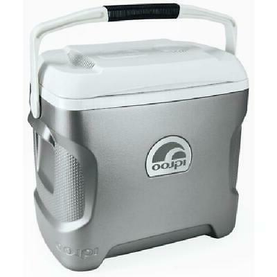 28 Quart Portable Electric Iceless Car Cooler Mini Beverage