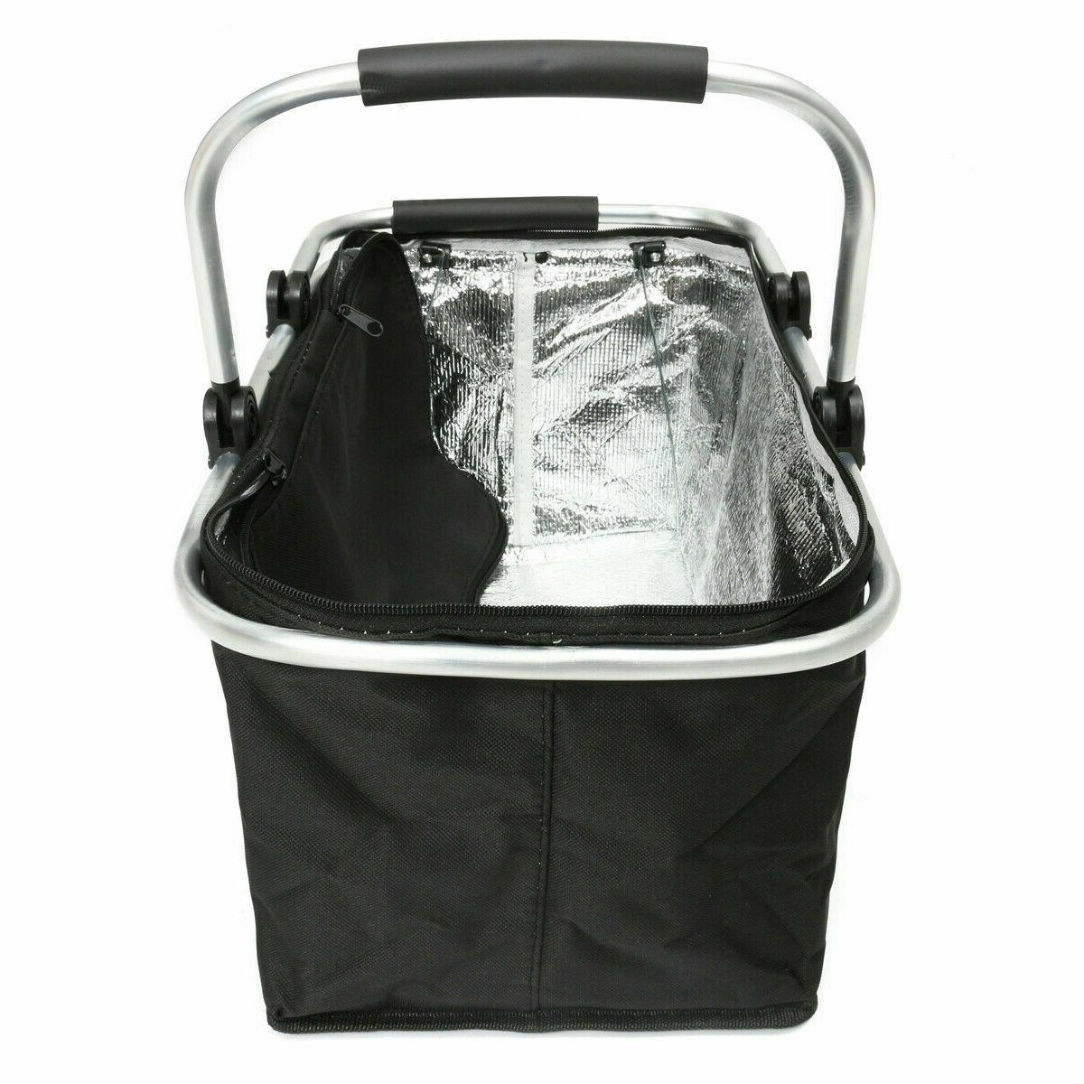 30L Insulated Large Folding Cooler Waterproof