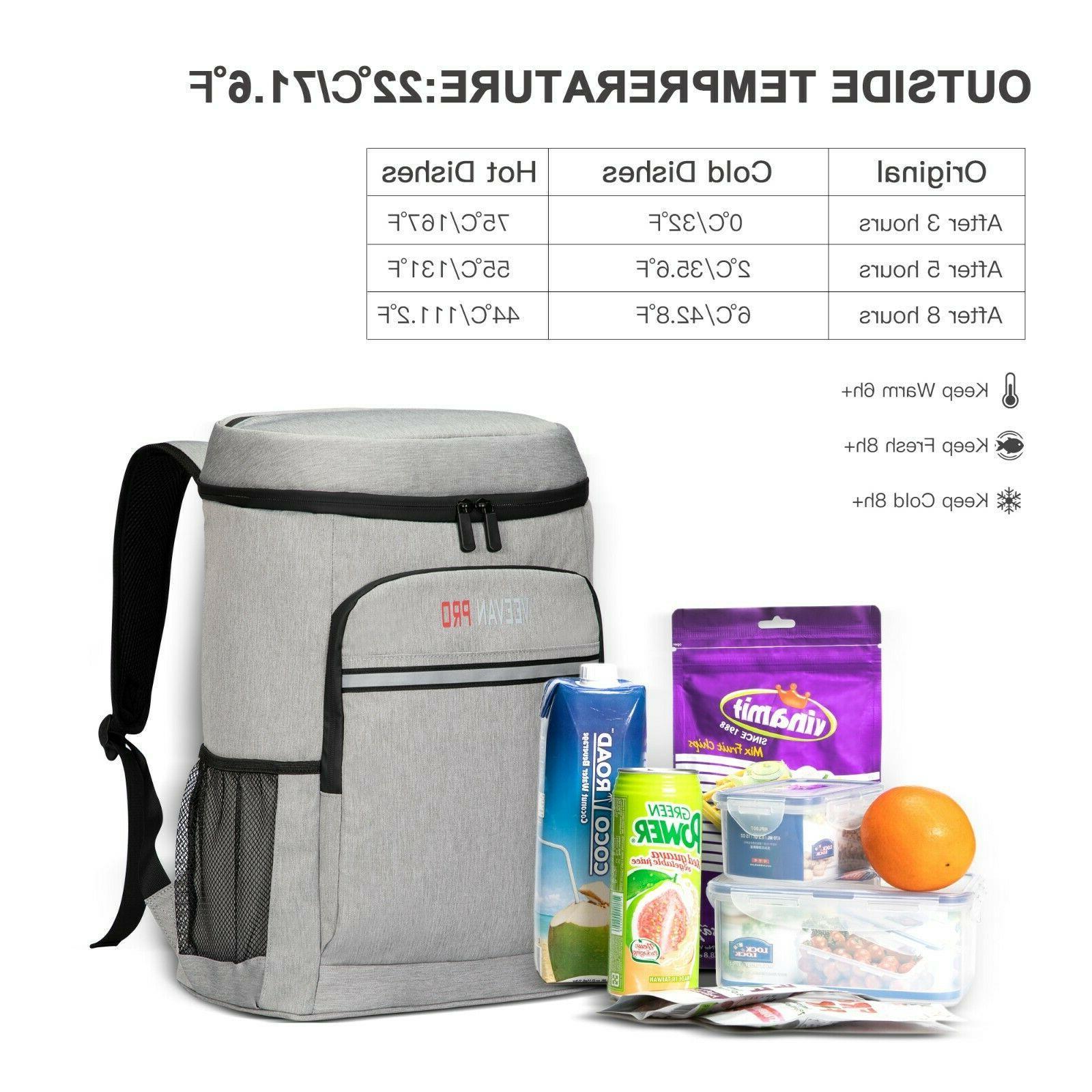 40 Insulated Backpack Leak-Proof Soft Women