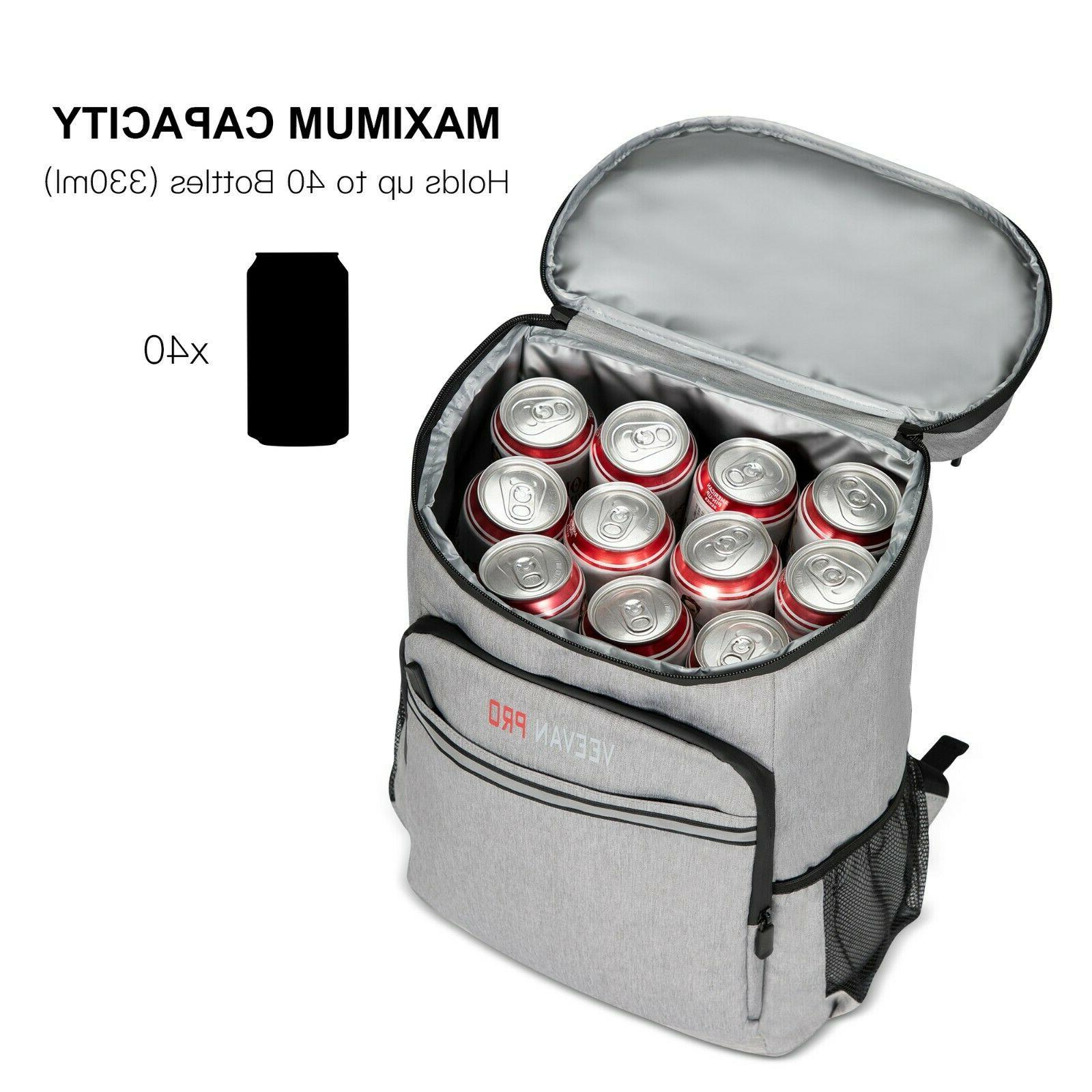 40 Cans Insulated Cooler