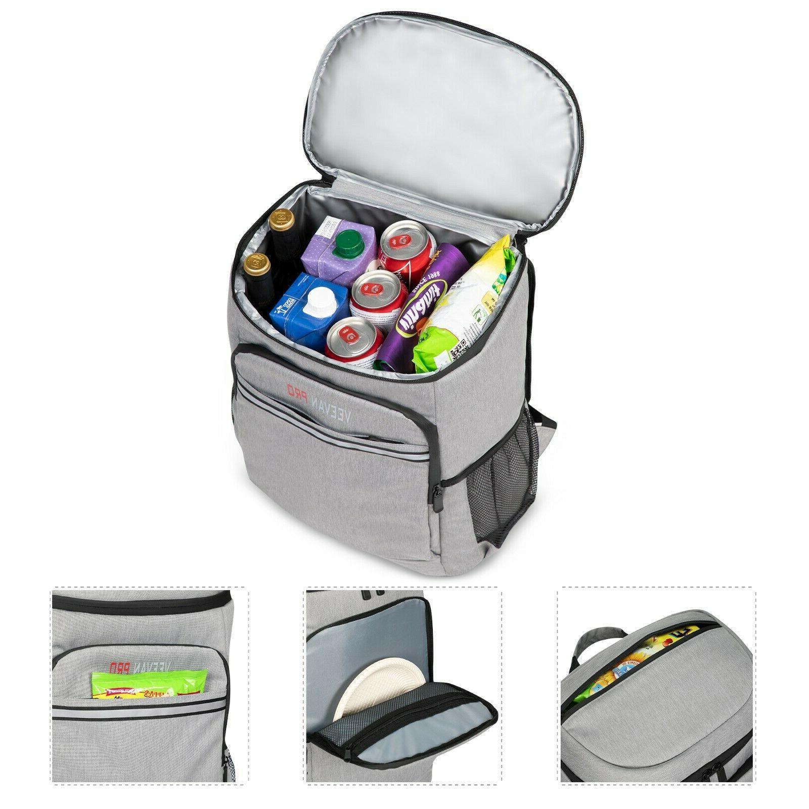 40 Insulated Cooler Backpack Soft Sided Cooler Bag Women