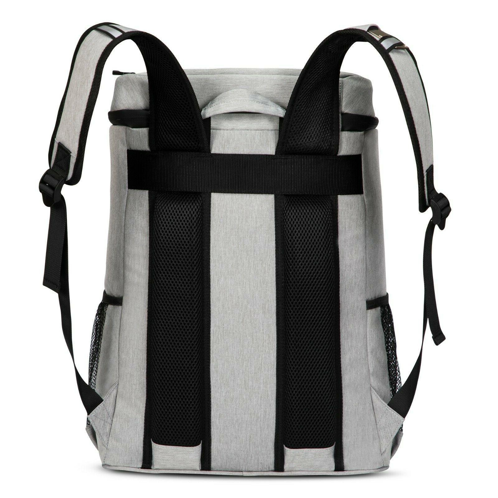 40 Cans Backpack Leak-Proof Soft Cooler Women