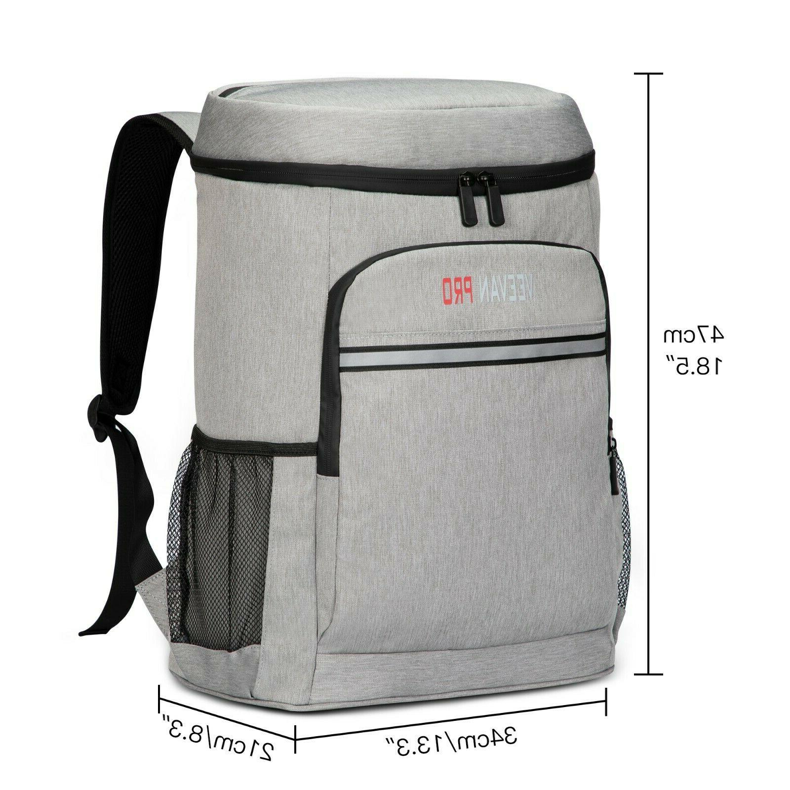 40 Cans Insulated Backpack Soft Cooler for Women