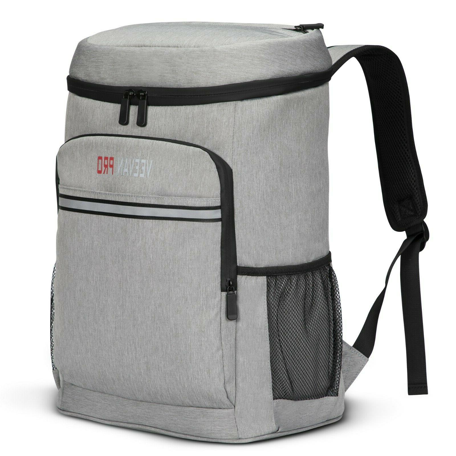 40 cans insulated cooler backpack leak proof