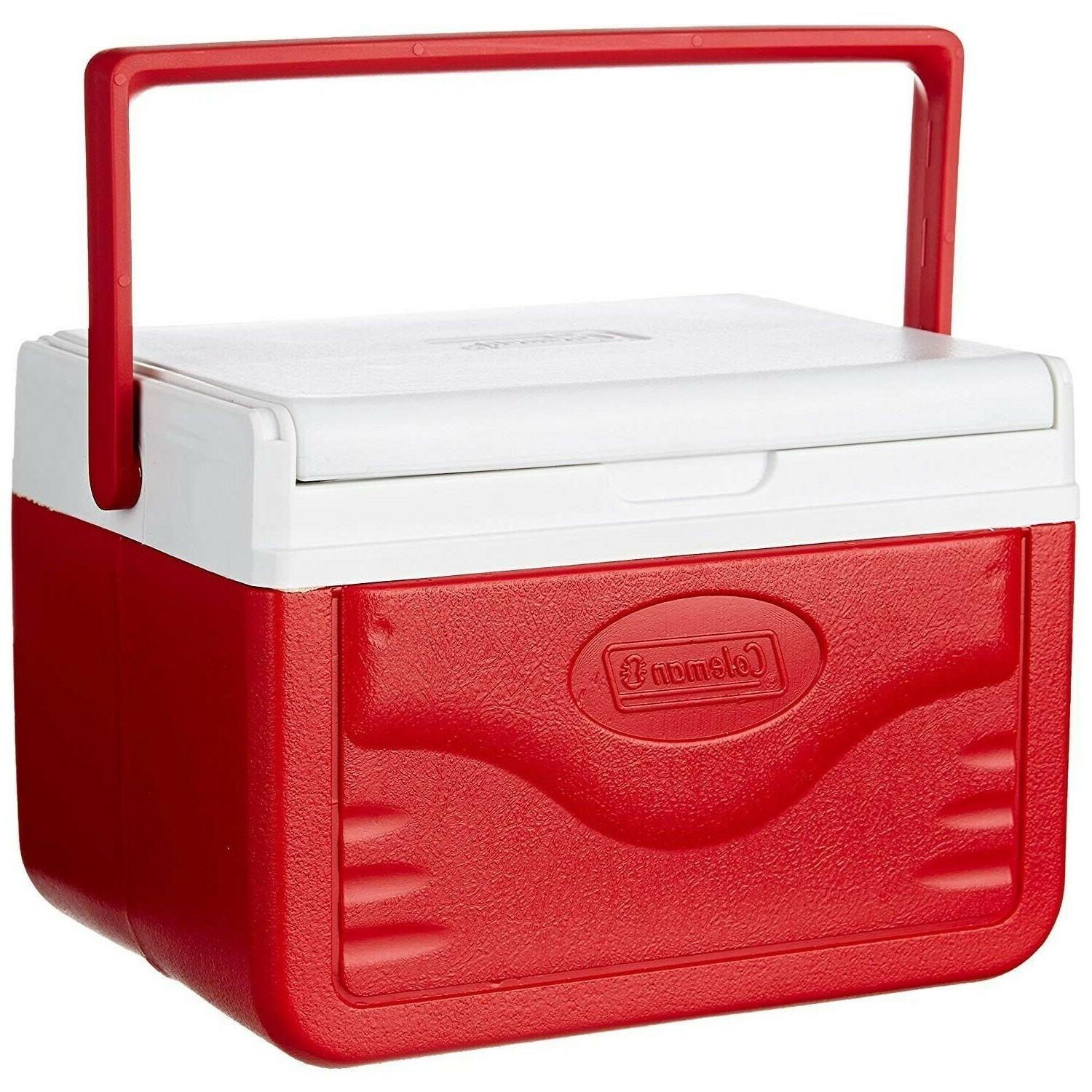5 Quart Cooler Personal 6-Can Ice Chest Travel Hiking Picnic