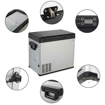 54 Qt Portable Fridge Freezer Car Refrigerator Cooler Electric Commercial