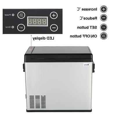 54 Qt Portable Fridge Freezer Cooler Commercial