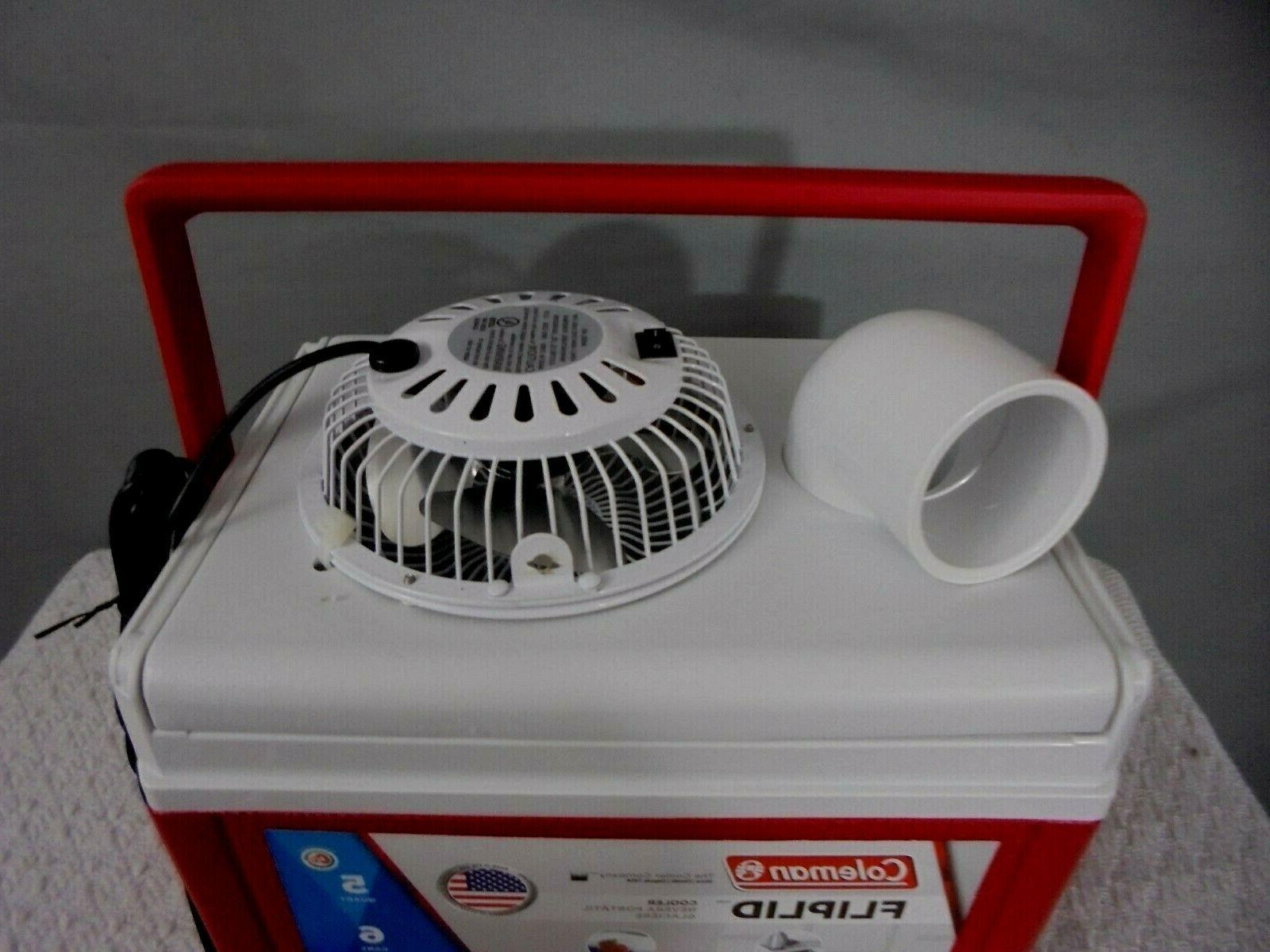 "Coleman 5qt Swamp Portable Air Conditioner 4"""