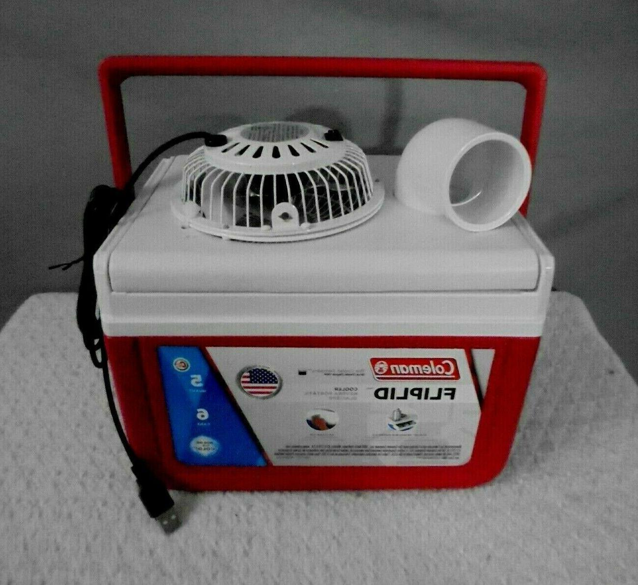 5qt mini personal swamp cooler portable air