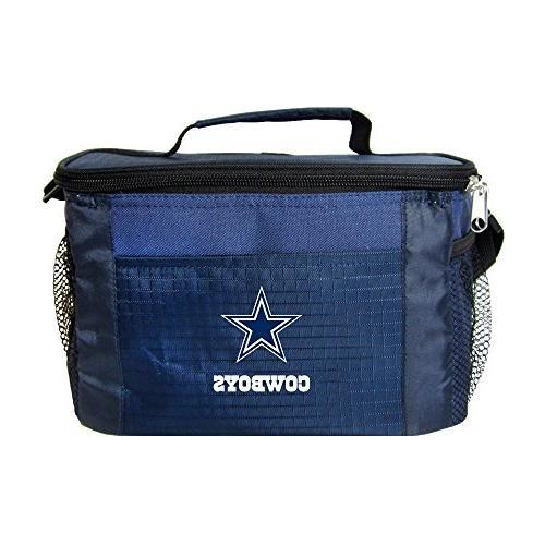 NFL Dallas Cowboys Team Logo 6 Can Cooler Bag or Lunch Box -