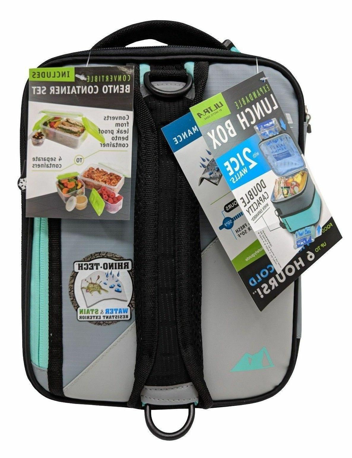 Carry Insulated Bento Bag Lunchbox Thermal