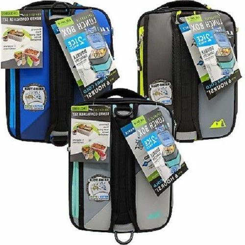 Carry Insulated Box Bento Lunchbox Thermal Expandable