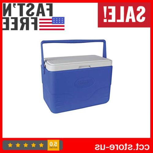 coleman 28 quart cooler ice box insulated