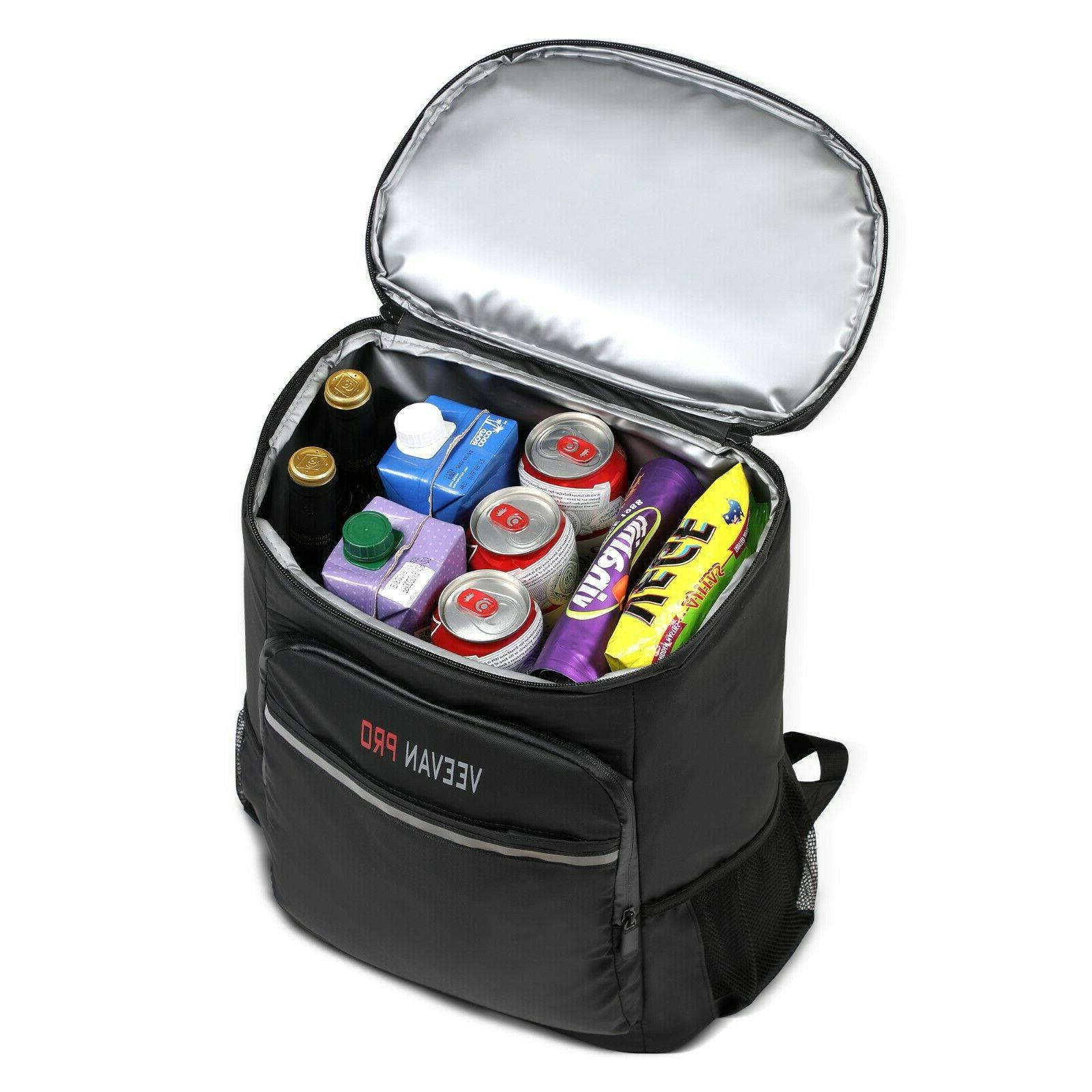 Cooler Backpack 40 Cans Lightweight Insulated Large Capacity
