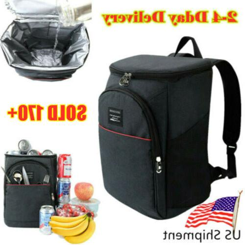 cooler bag insulated lunch travel ice picnic