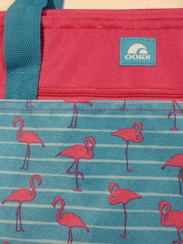 Flamingos Pink Blue