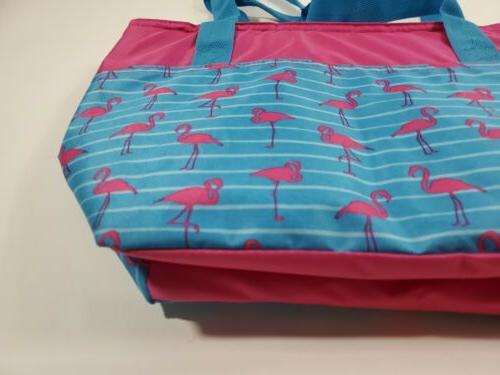 Igloo Cooler Beach 30 Flamingos & Blue