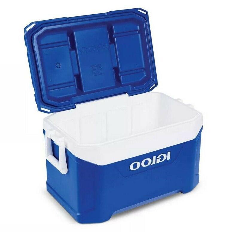 Cooler -Igloo 50qt Cooler Blue
