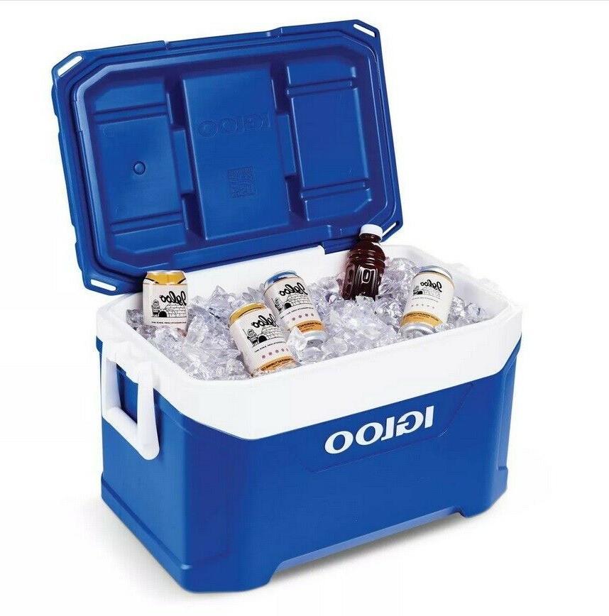 Cooler New 50qt - Blue