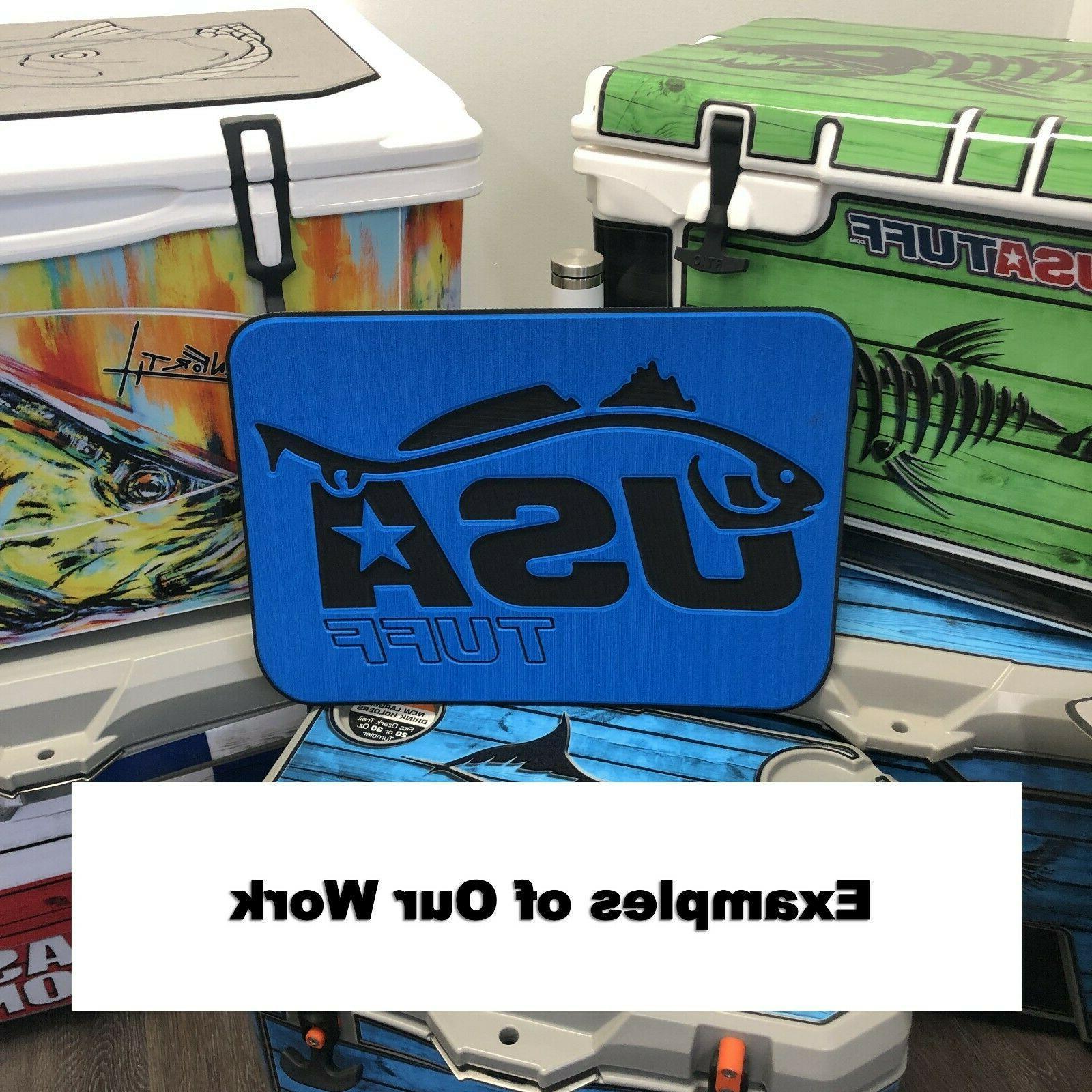 USATuff Cooler Pad RTIC - SeaDek EVA / SG