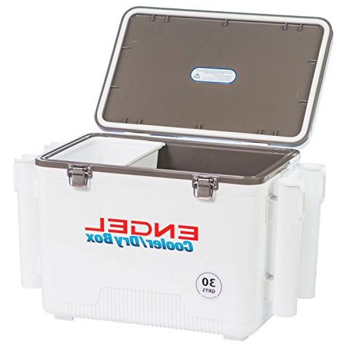 Engel Cooler/Dry Box 4 Rod Holders -