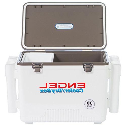 Engel Cooler/Dry 4 Rod Holders 30 Qt