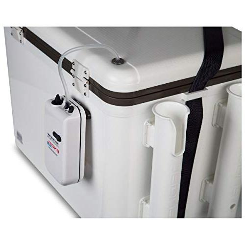 Engel Coolers Combo Unit - Live Cooler with Rod White,