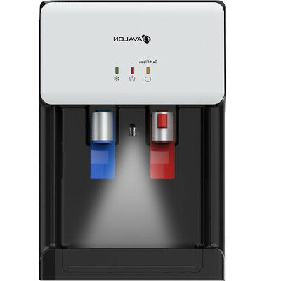 Avalon Countertop Cleaning Bottleless Water Water Dispenser, White
