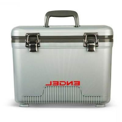 dry cooler 13 qt silver