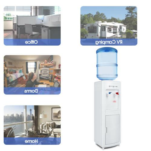 Top Loading Water Dispenser 5 with Cabinet