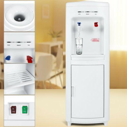 Top Loading Water Cooler Dispenser Freestanding  5 Gallon wi