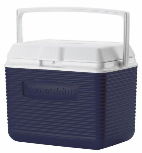 Rubbermaid Fg2a1104modbl 10 Quart Modern Blue Personal Coole