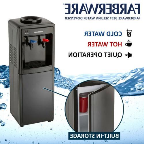 Farberware FW29919 Freestanding and Water Cooler Dispenser,-Top