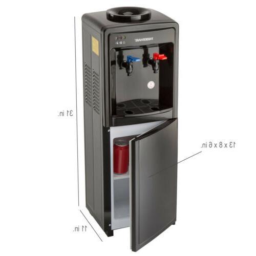 Farberware FW29919 Freestanding Hot and Water Dispenser,-Top