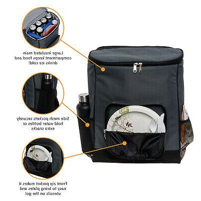 LISH Large Lightweight Proof Sided Cooler