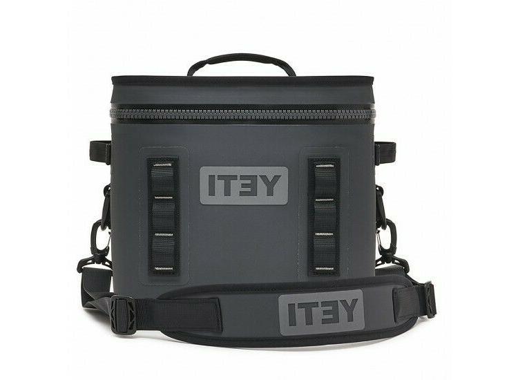 hopper flip 12 portable cooler charcoal new