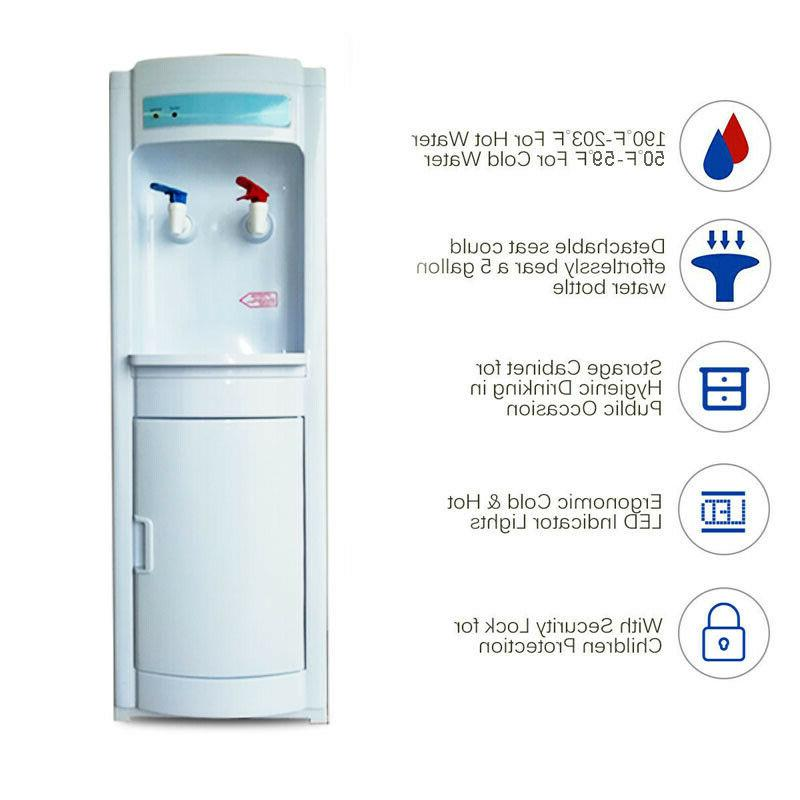 Hot&Cold Warm Water Dispenser standing Gallons