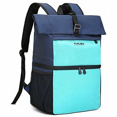 insulated cooler backpack lunch bag light