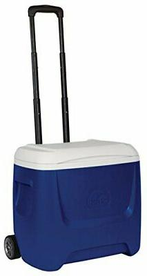 Island Breeze Roller Wheeled Cooler with Locking Telescoping