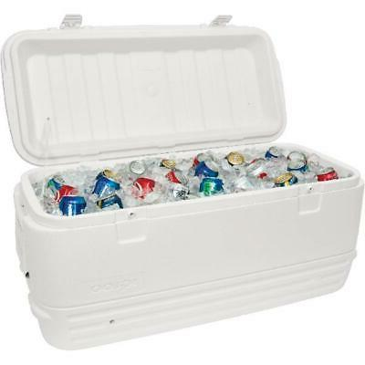 large cooler 120 qt cold ice chest