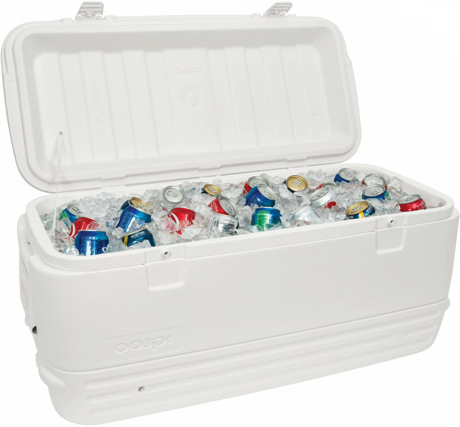 large cooler quart max cold ice chest