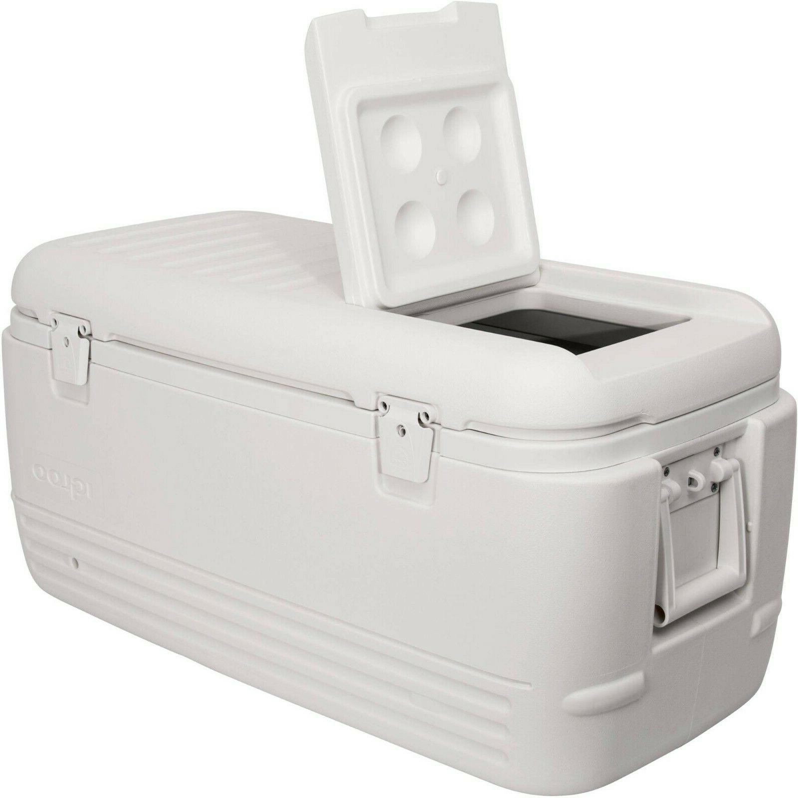 large cooler ice chest tailgating marine camping
