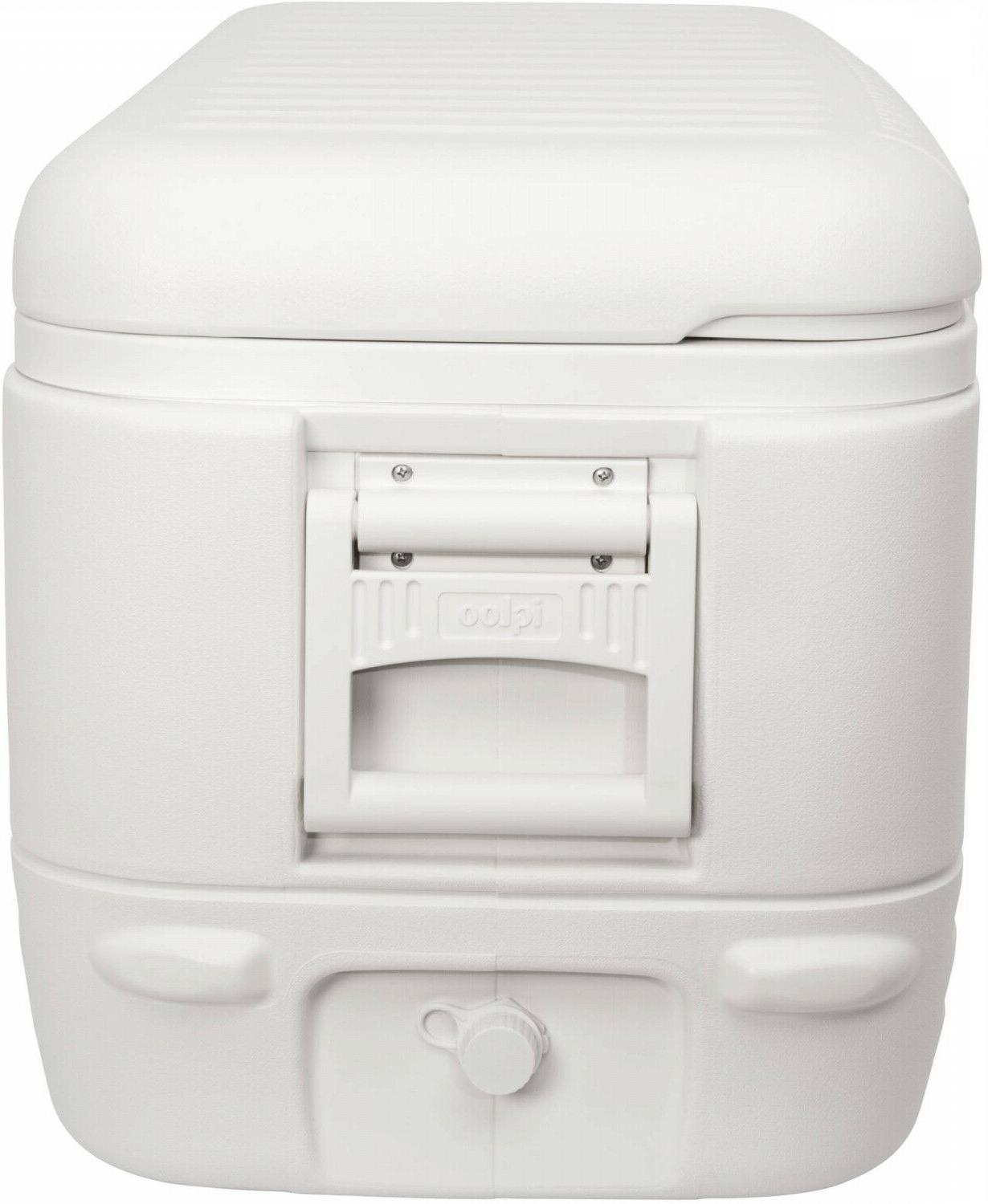 Large Max Cold Ice Chest Insulated Marine White 120qt