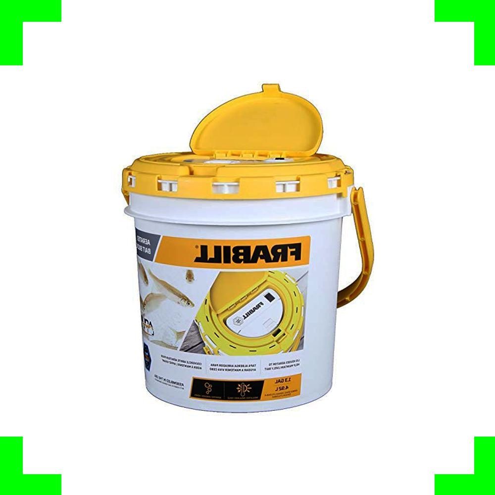 Frabill Live Fish Bait Bucket With Aerator Fishing Minnow Co