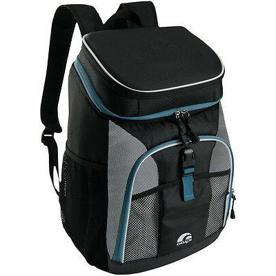 IGLOO MaxCold Insulated Backpack - Black/Silver/Blue