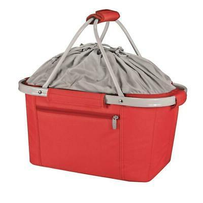 Metro Basket Cooler Tote 26 Can Red Insulated Food Carriers