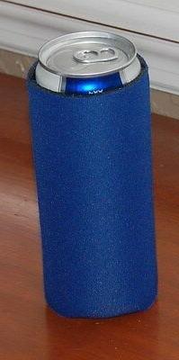 Michelob Ultra Koozie slim can cooler BLUE NEW