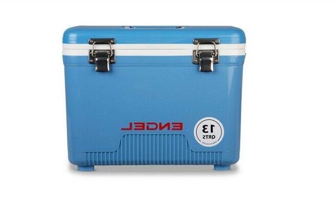 New Engel 13 Quart Dry Box Cooler UC 13 Ice Chest Blue